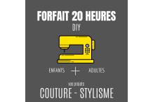 20 heures de couture&stylisme