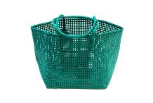 Panier plastique recyclé vert
